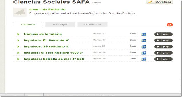 Ciencias Sociales SAFA   Spreaker Online Radio