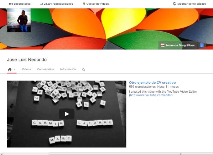 Jose Luis Redondo   YouTube