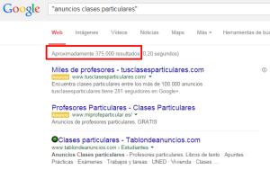 anuncios clases particulares    Buscar con Google
