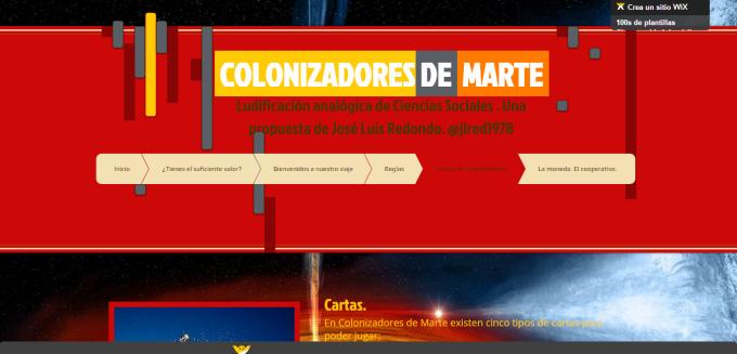 Colonizadores de Marte   Cartas de Colonizadores