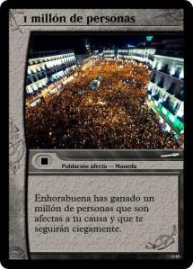 1 millón de personas